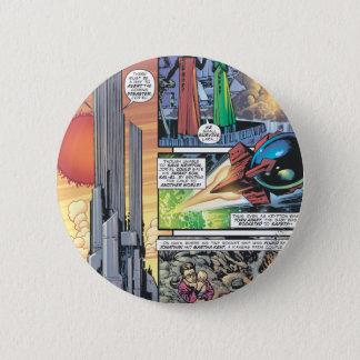 Superman Comic Panel - Clark's Origins Pinback Button