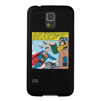 Superman Comic Panel - Saving Lois Galaxy S5 Covers