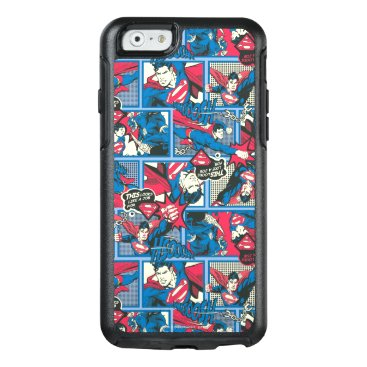 Superman Comic Pattern OtterBox iPhone 6/6s Case