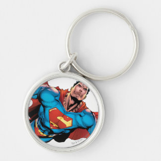 Superman Comic Style Key Chain
