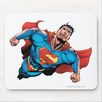 Superman Comic Style Mouse Pad