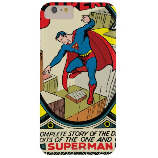 Superman (Complete Story) Barely There iPhone 6 Plus Case