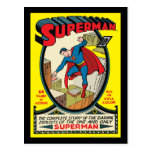 Superman (Complete Story) Postcard