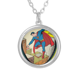 Superman (Complete Story) Round Pendant Necklace