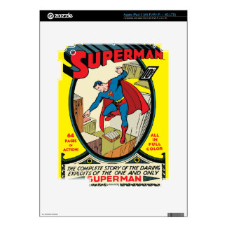 Superman (Complete Story) iPad 3 Decal