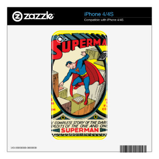Superman (Complete Story) Skin For iPhone 4