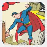 Superman (Complete Story) Square Sticker