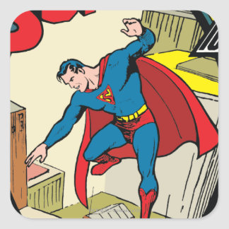 Superman (Complete Story) Square Sticker