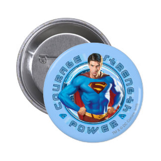 Superman Courage Strength Power Button