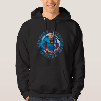 Superman Courage Strength Power Hoodie