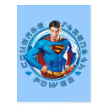 Superman Courage Strength Power Postcard