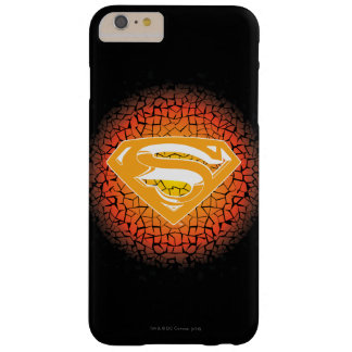 Superman Crackle Logo Barely There iPhone 6 Plus Case
