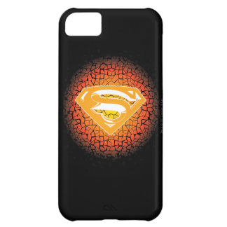Superman Crackle Logo Cover For iPhone 5C