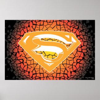 Superman Crackle Logo Poster