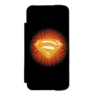 Superman Crackle Logo Incipio Watson™ iPhone 5 Wallet Case