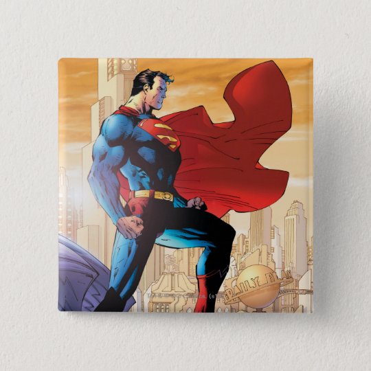 Superman Daily Planet Button