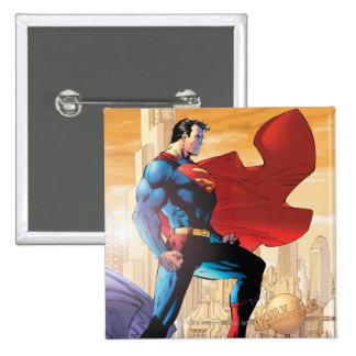 Superman Daily Planet 2 Inch Square Button