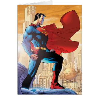Superman Daily Planet Greeting Card
