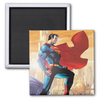 Superman Daily Planet 2 Inch Square Magnet