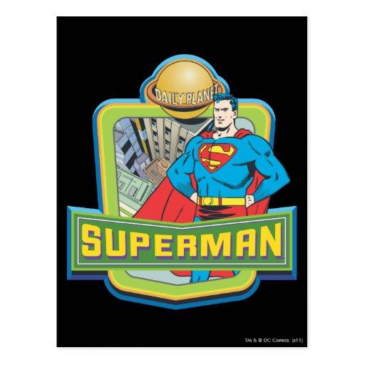 Superman - Daily Planet Postcard