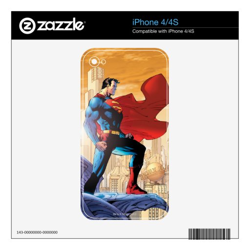 Superman Daily Planet Skin For The iPhone 4S