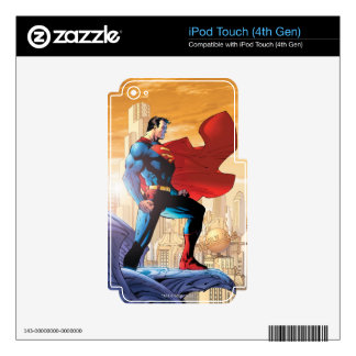 Superman Daily Planet Skins For iPod Touch 4G