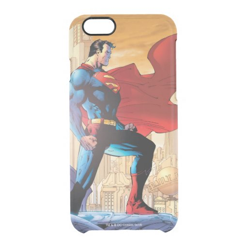 Superman Daily Planet Clear iPhone 6/6S Case