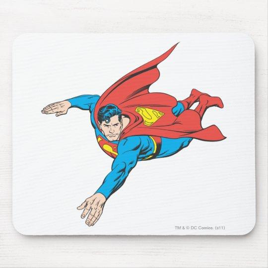Superman Dives Left Mouse Pad