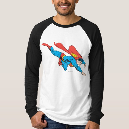 Superman Dives Right T-Shirt