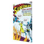 Superman (Double-Feature with Batman) Canvas Print