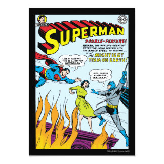 Superman (Double-Feature with Batman) Card