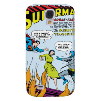 Superman (Double-Feature with Batman) Galaxy S4 Cover