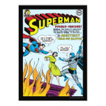 Superman (Double-Feature with Batman) Custom Invitations