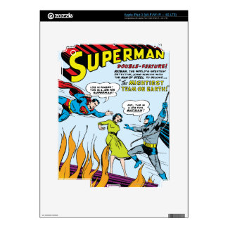Superman (Double-Feature with Batman) Skins For iPad 3