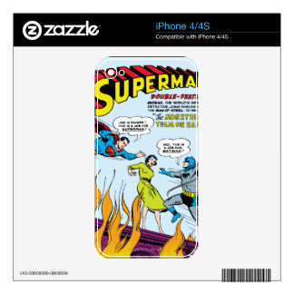 Superman (Double-Feature with Batman) Skins For iPhone 4