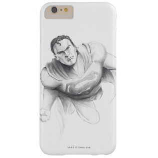 Superman Drawing Barely There iPhone 6 Plus Case