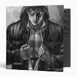 Superman Earth Cover - Black and White Vinyl Binders