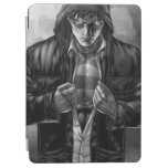 Superman Earth Cover - Black and White iPad Air Cover