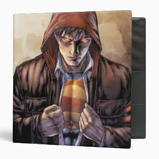 Superman Earth Cover - Color 3 Ring Binder