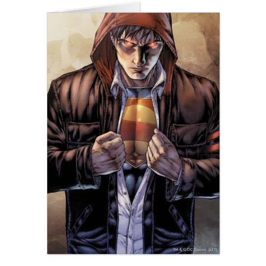 Superman Earth Cover - Color Card