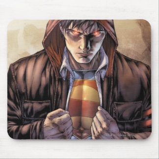 Superman Earth Cover - Color Mouse Pad