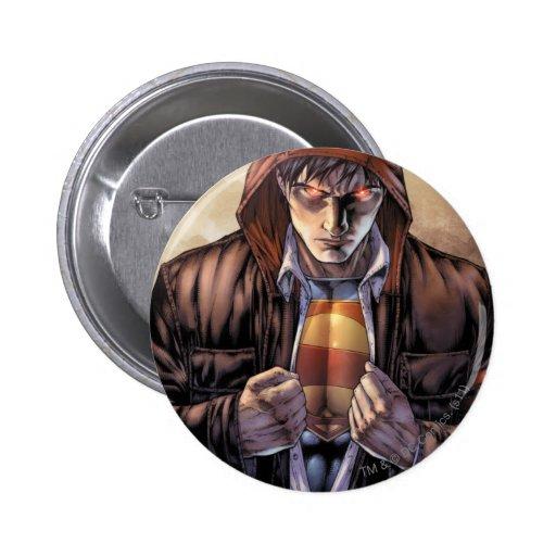 Superman Earth Cover - Color Pin
