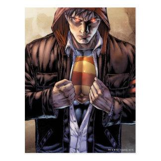 Superman Earth Cover - Color Postcard