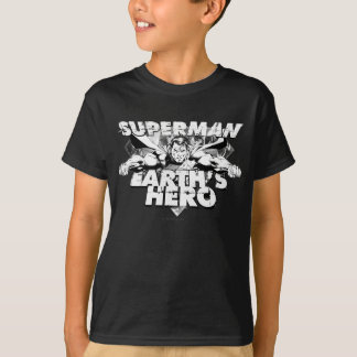 Superman Earth's Hero T-Shirt