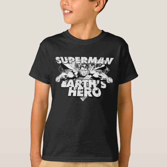 Superman Earth's Hero T-Shirt