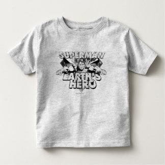 Superman Earth's Hero Toddler T-shirt
