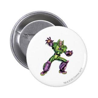 Superman Enemy 1 2 Inch Round Button
