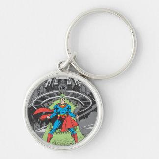 Superman Exposed to Kryptonite Keychain