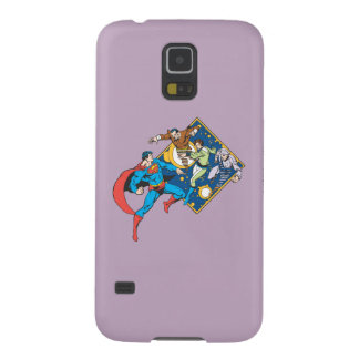 Superman Fights Enemies Galaxy S5 Cover