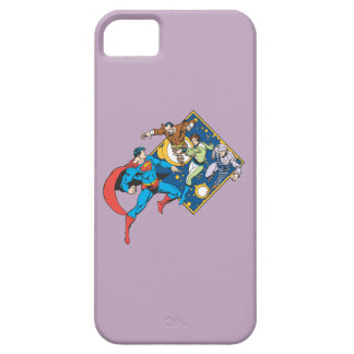 Superman Fights Enemies iPhone SE/5/5s Case